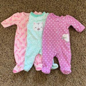Carters fleece pajamas